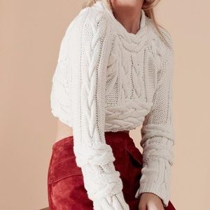 For love and lemons Greenwich sweater